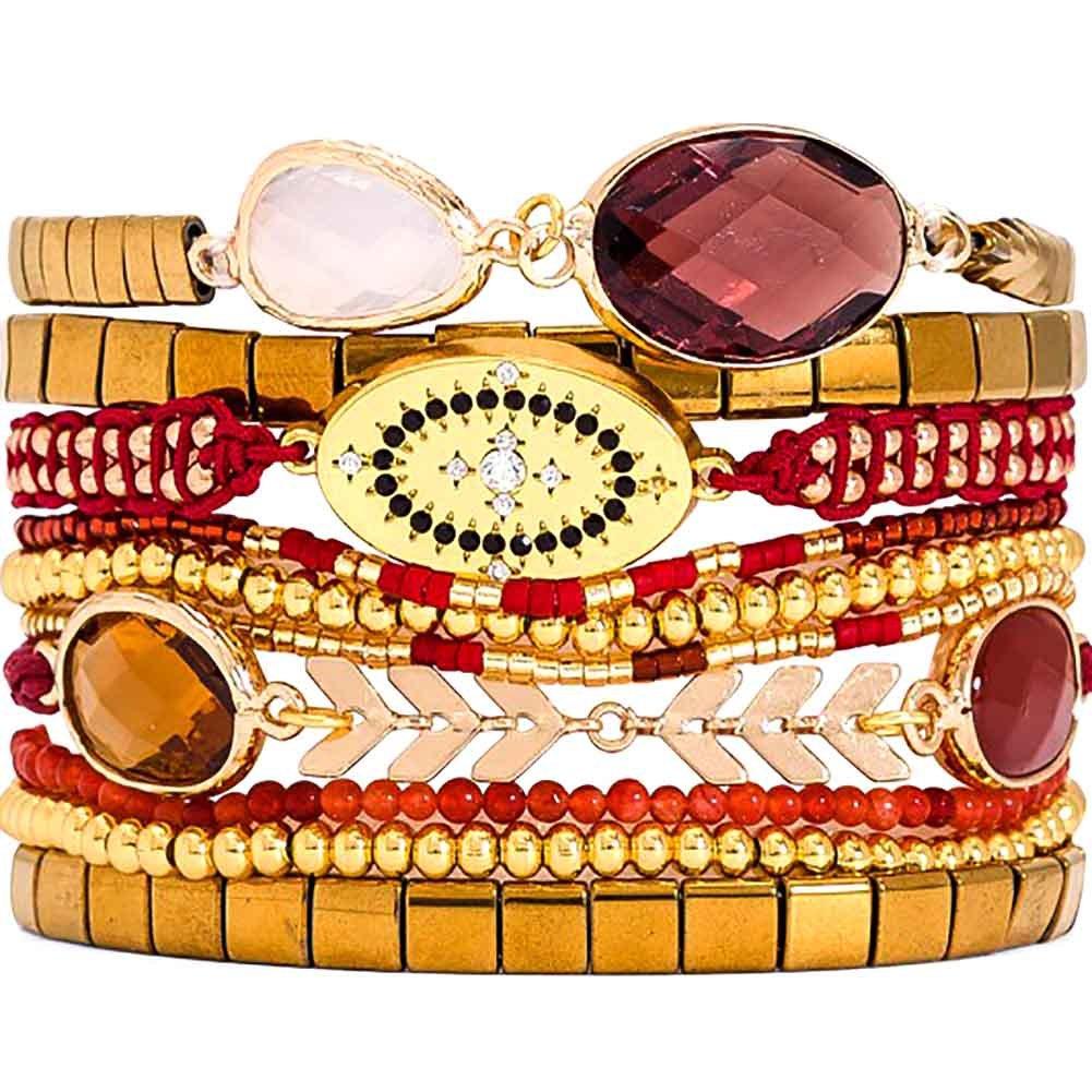 HIPANEMA Amarante Multi Strand Bracelet