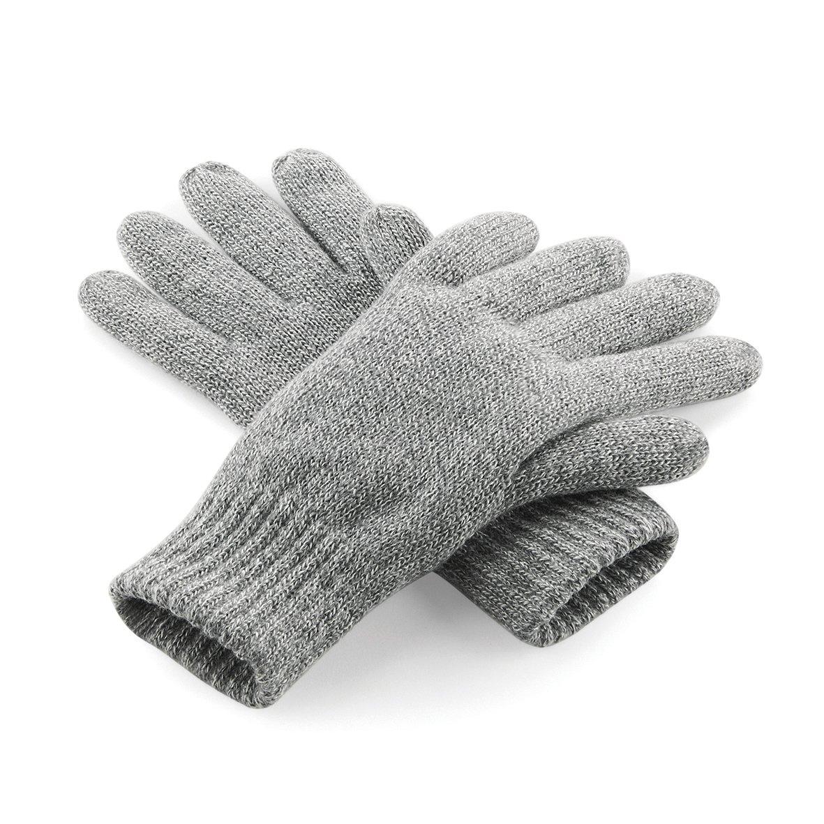 Damen Herren Beechfield Classic Thinsulate Gloves Handschuhe Freizeit