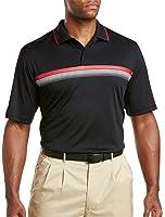 Reebok Big & Tall OM Stripe Polo Shirt