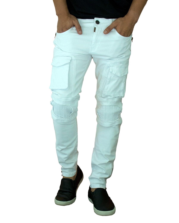Amazon.com: Etzo - Pantalones vaqueros de vaquero para ...