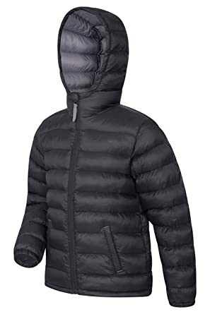 063cff705 Mountain Warehouse Seasons Boys Padded Jacket - Water Resistant Rain ...