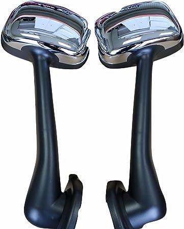 Fender Freightliner Cascadia Chrome Hood Mirror SET