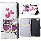 Custodia Doogee X5 Flip,Premium di Cuoio Flip Book Case Cover per Doogee X5 / X5 Pro Smartphone Custodia in Pelle