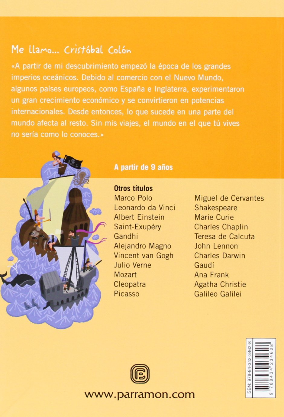 ME LLAMO CRISTOBAL COLON: Amazon.es: Garcés, Fernando, Julve ...