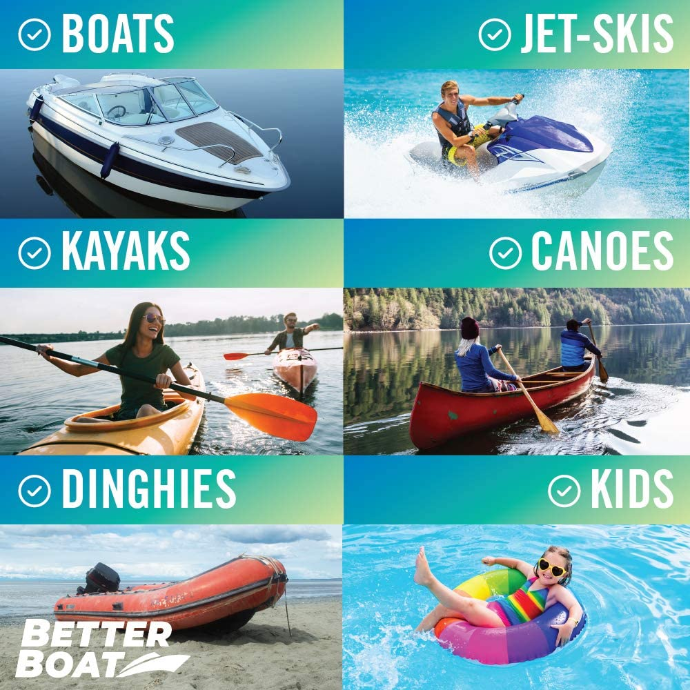 Telescoping Plastic Boat Paddle Collapsible Oar Kayak Jet Ski and Canoe Paddles Small Safety Boat Accessories Portable Rafting Boating Paddle Aluminum Kayak Paddle for Water Sports