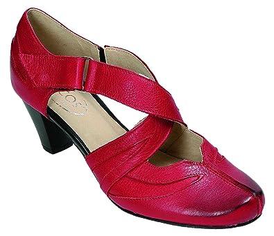 Miccos Shoes Pumps D.Pumps in Rot, Größe 38.0,