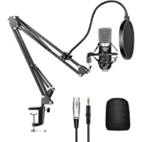 Neewer NW-700 Professional Studio Broadcasting Recording Condenser Microphone & NW-35 Adjustable Recording Microphone…