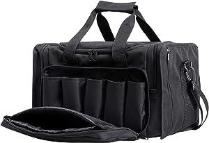 Shieldo Gun Range Bag - Pistol Shooting Range Duffle Bag for Handguns and Ammo