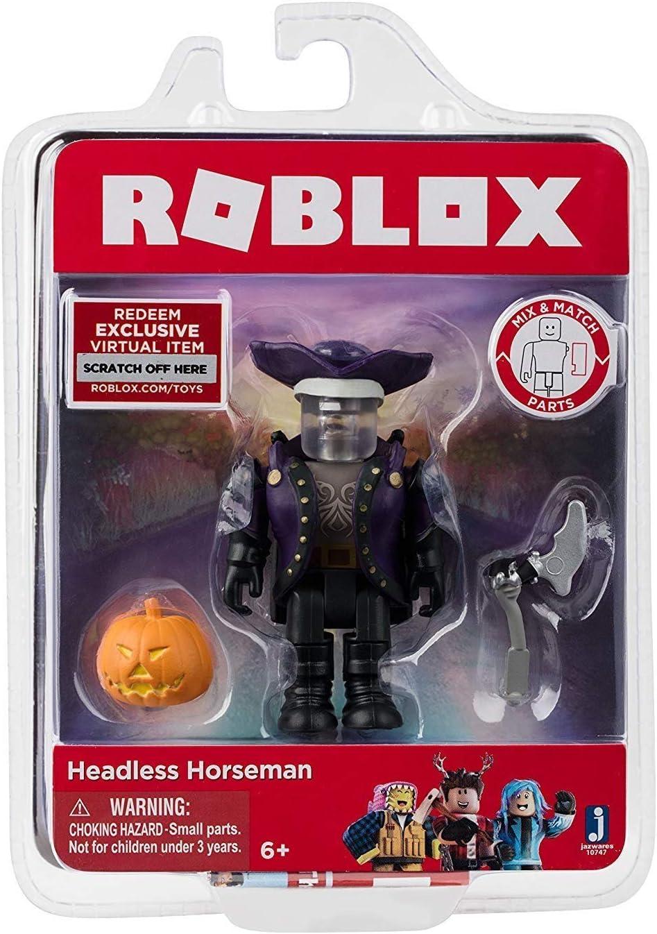 Amazon Com Jazwares Roblox Headless Horseman Action Figure Toys