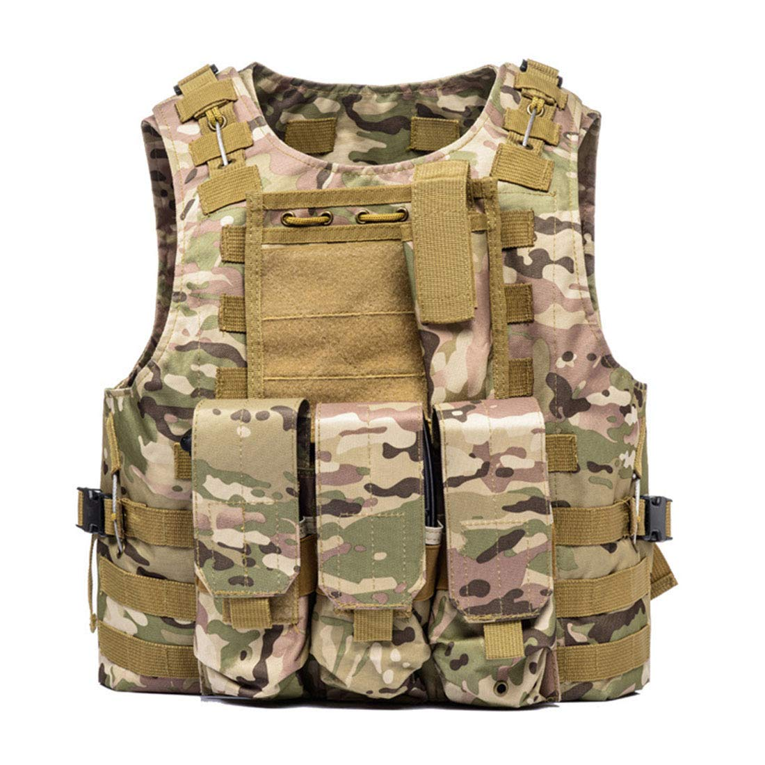 SWQ Military Tactical Vest Barbarians Combat Vest Outdoor Jacket for Airsoft Game CS Military Cosplay