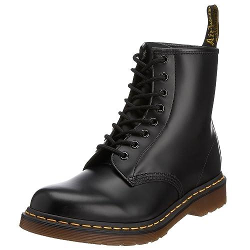 8d212095e9b1fd Dr. Martens 1460 Unisex Schwarz Glatt Leder Schnürschuh mit 8 Ösen Stiefel   Amazon.de  Schuhe   Handtaschen