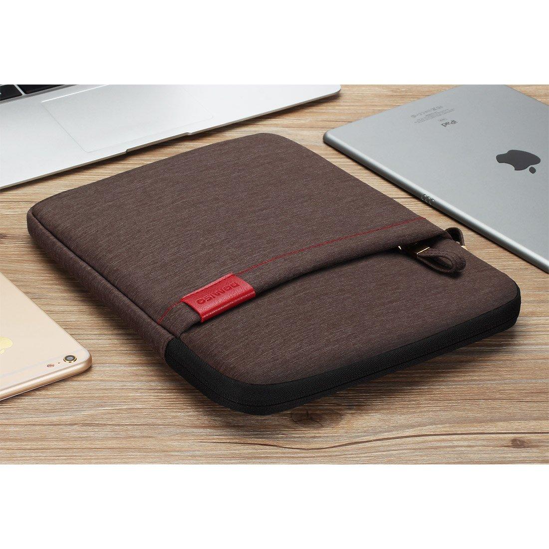 domiso funda para tablet resistente al agua funda bolsa protectora gris 8 inch