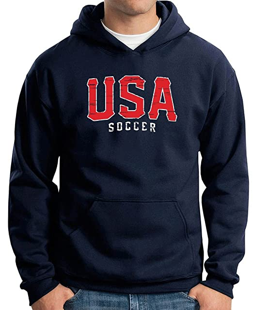 T-Shirtshock - Sudadera Hoodie WC0629 USA T-SHIRT - USA SOCCER, Talla S: Amazon.es: Ropa y accesorios