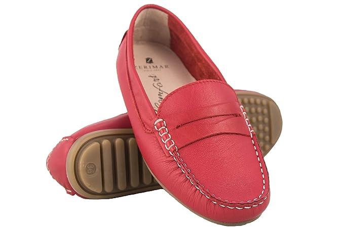 Zerimar Mocasines Mujer de Piel   Loafer Mujer   Mocasines Mujer Verano   Mocasin Mujer   Mocasin Mujer Piel   Zapatos Casuales Mujer