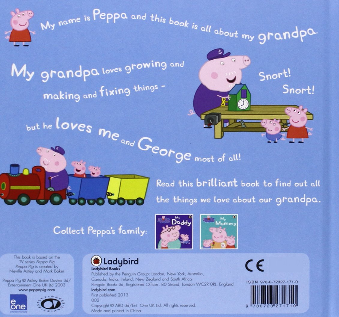 Buy peppa pig my grandpa book online at low prices in india peppa buy peppa pig my grandpa book online at low prices in india peppa pig my grandpa reviews ratings amazon fandeluxe Image collections