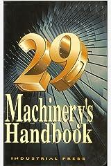 Machinery's Handbook, 29th Hardcover
