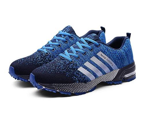 Goalsse Hombres Mujer Zapatillas Calzado Deportivo Moda Casual Zapatos Tendencia Zapatillas Deportivas Zapatillas Deportivas Transpirables Fitness ...
