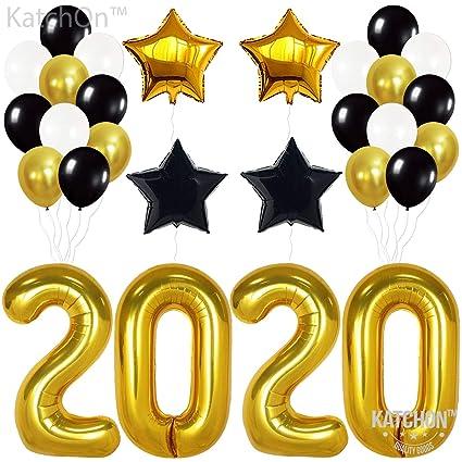 2020 Graduation Party Supplies.Amazon Com 2020 Balloons Graduation New Year Gold 2020