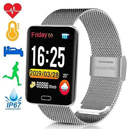 Amazon.com: TURNMEON Smart Activity Watch Waterproof ...