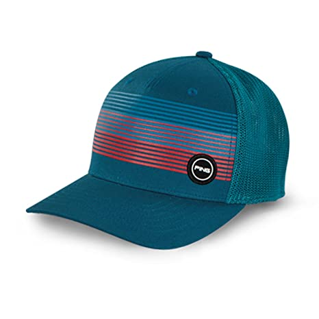 ea506272653 Image Unavailable. Image not available for. Color  PING Men s Golf Caps    Hats (Fitted Sport Mesh ...