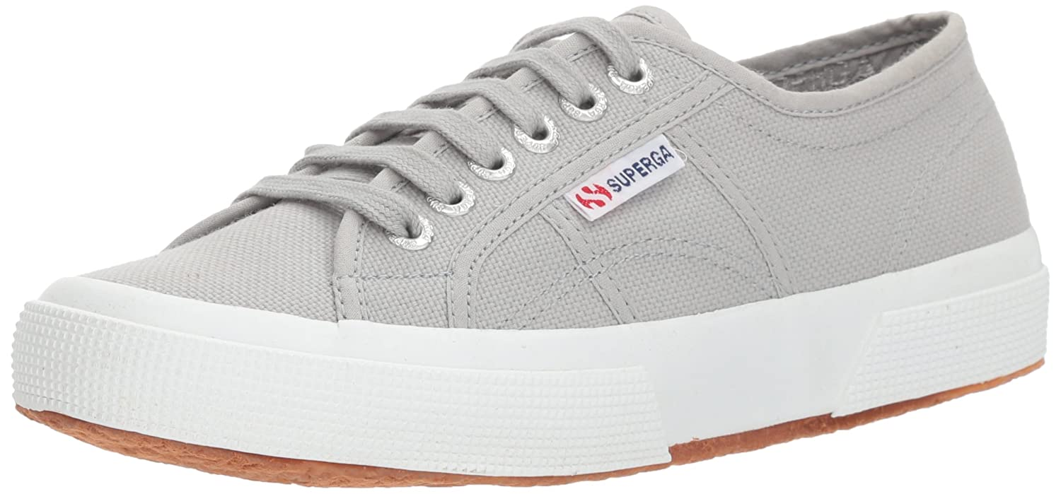 Superga Women's 2750 Cotu Sneaker B01LRGXFFC 38 M EU|Total Light Grey