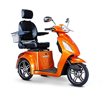 Amazon.com: e-wheels ew-36o 3 Rueda 350 lbs. Capacidad de ...
