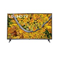 LG 43 inches UHD 4K Smart TV, Active HDR, WebOS Operating System, ThinQ AI - 43UP7550PVG