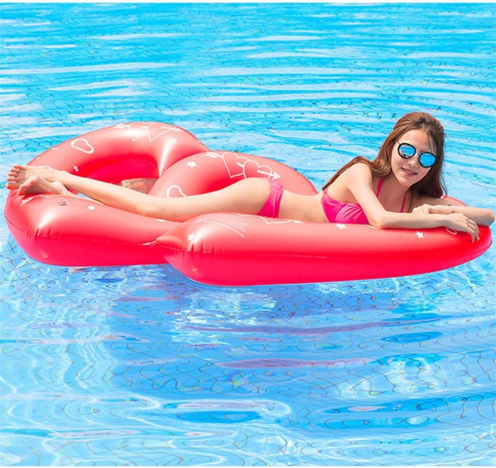 Piscina Inflable flotador Círculo De Natación Inflable Doble ...