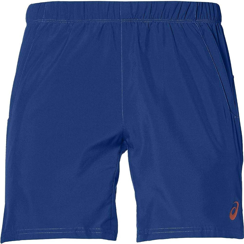 ASICS Pantalon Corto Club 7 Azul: Amazon.es: Deportes y aire libre