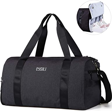 Sports Duffel for Men and Women with Shoes Compartment Gym Bag