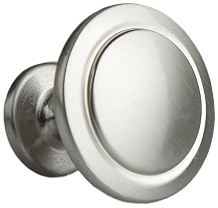 Satin Nickel Kitchen Cabinet Knobs Inch Round Drawer Handles - Amazon kitchen cabinet handles
