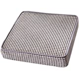Remeehi Seat Cushion for Chair 8 Colors 1pcs Summer Back Cushion Grey L