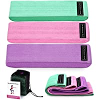 Booty Resistance Hip Exercise Bands, Perfect for Exercises Buttocks or Squats, Can be used in a Variety of locations