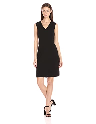 Calvin Klein Women's Sheath Dress with Shoulder Cut Outs