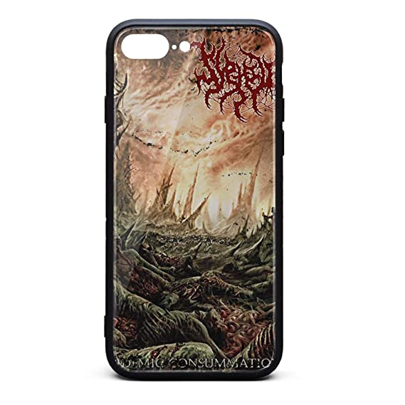 the latest 95510 18c46 Amazon.com: iPhone 7/8 Plus Case - Suffocation-Art- TPU Shockproof ...