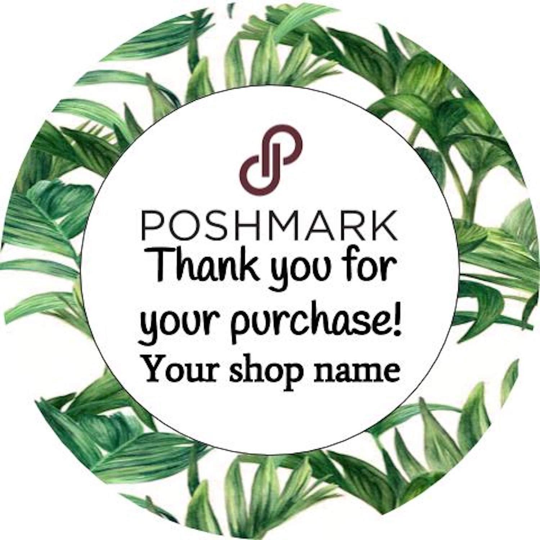 Amazon com custom poshmark ebay etsy mercari packaging stickers