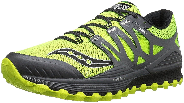 Saucony Men s Xodus Iso Trail Runner Citron47;Grey 40.5 D(M) EU/6.5 D(M) UK