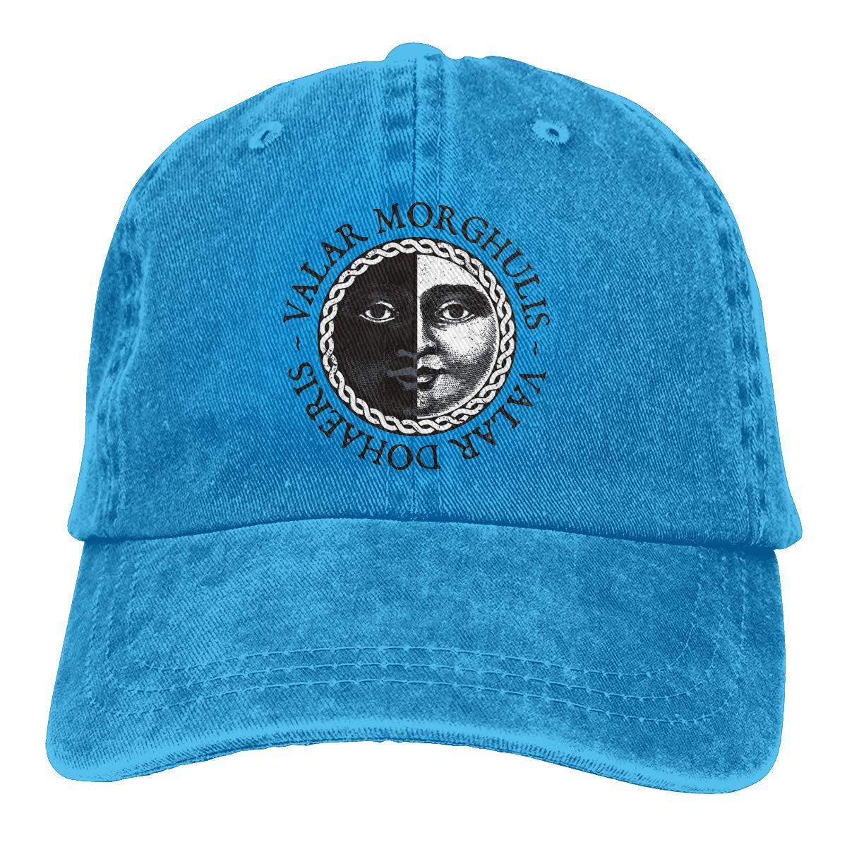 Optumus Cowboy Baseball Cap Valar-Morghulis Boven Trucker Hat for Men//Women