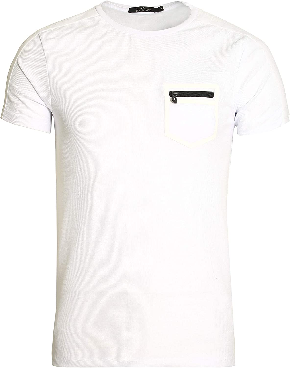 883 Police Mirto Pocket T-Shirt | White: Amazon.es: Ropa y accesorios