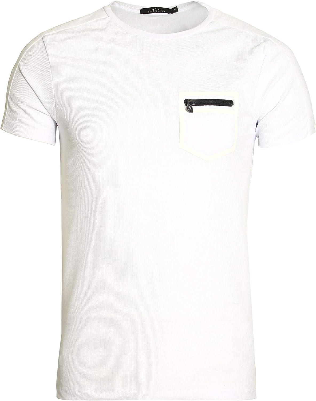 883 Police Mirto Pocket T-Shirt | White: Amazon.es: Ropa y accesorios