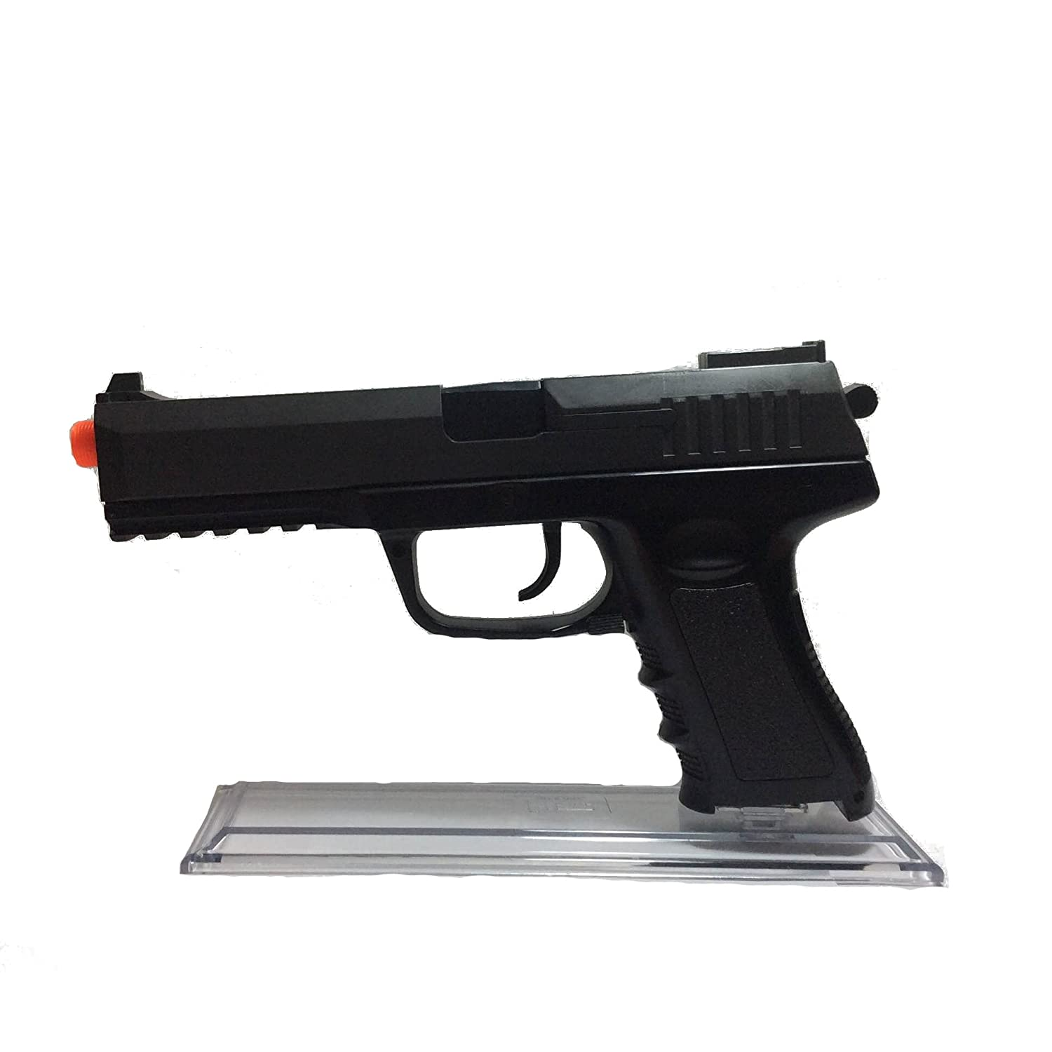 amazon com clear pistol stand safely show off your gun works