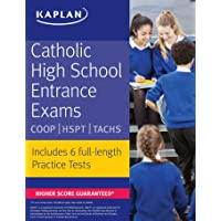 Catholic High School Entrance Exams: COOP * HSPT * TACHS (Kaplan Test Prep)
