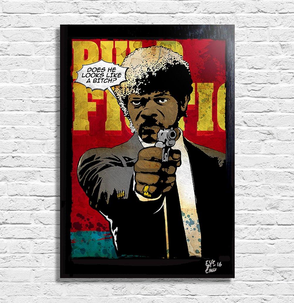 Amazon.de: Jules aus Pulp Fiction von Quentin Tarantino - Original ...