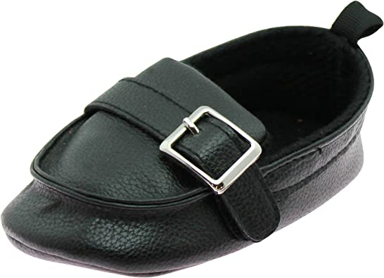 First Steps Baby Boys Slip On Loafers