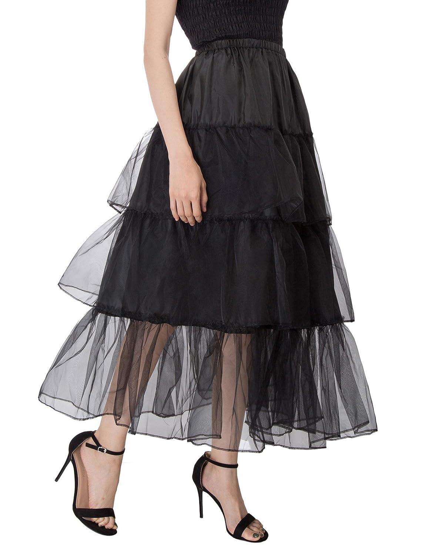 GRACE KARIN Women's Full Petticoats Bridal Crinoline Underskirt CL010746JS