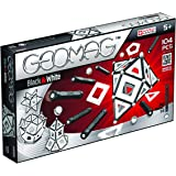 Geomag Playset (104 Piece), Black/White, One Size