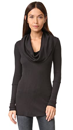 ffd08f122c Splendid Women s Thermal Cowl Top at Amazon Women s Clothing store  Fashion  T Shirts
