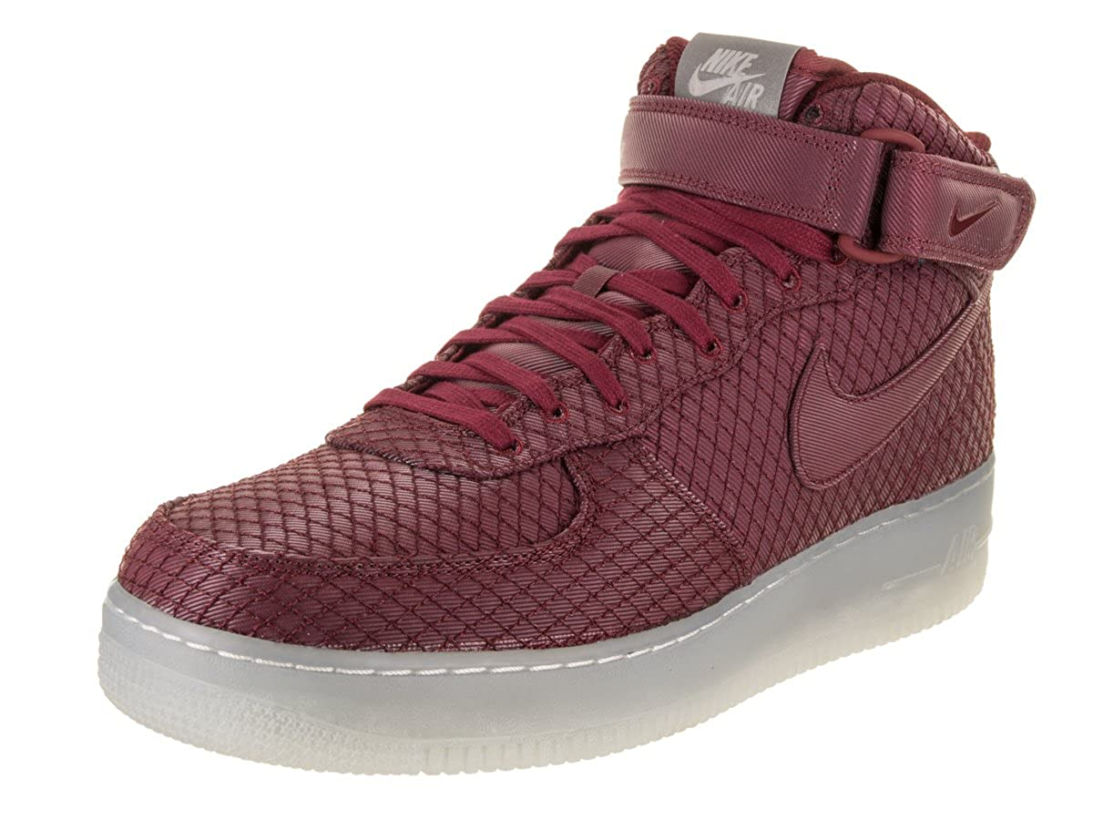 reputable site b4803 636a6 Amazon.com | Nike Air Force 1 07 Mid LV8 Men's Shoe Black ...
