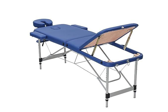 1 opinioni per Harima- Balendin DeluxeBlu -Lettino Portatile per Massaggi Massaggio