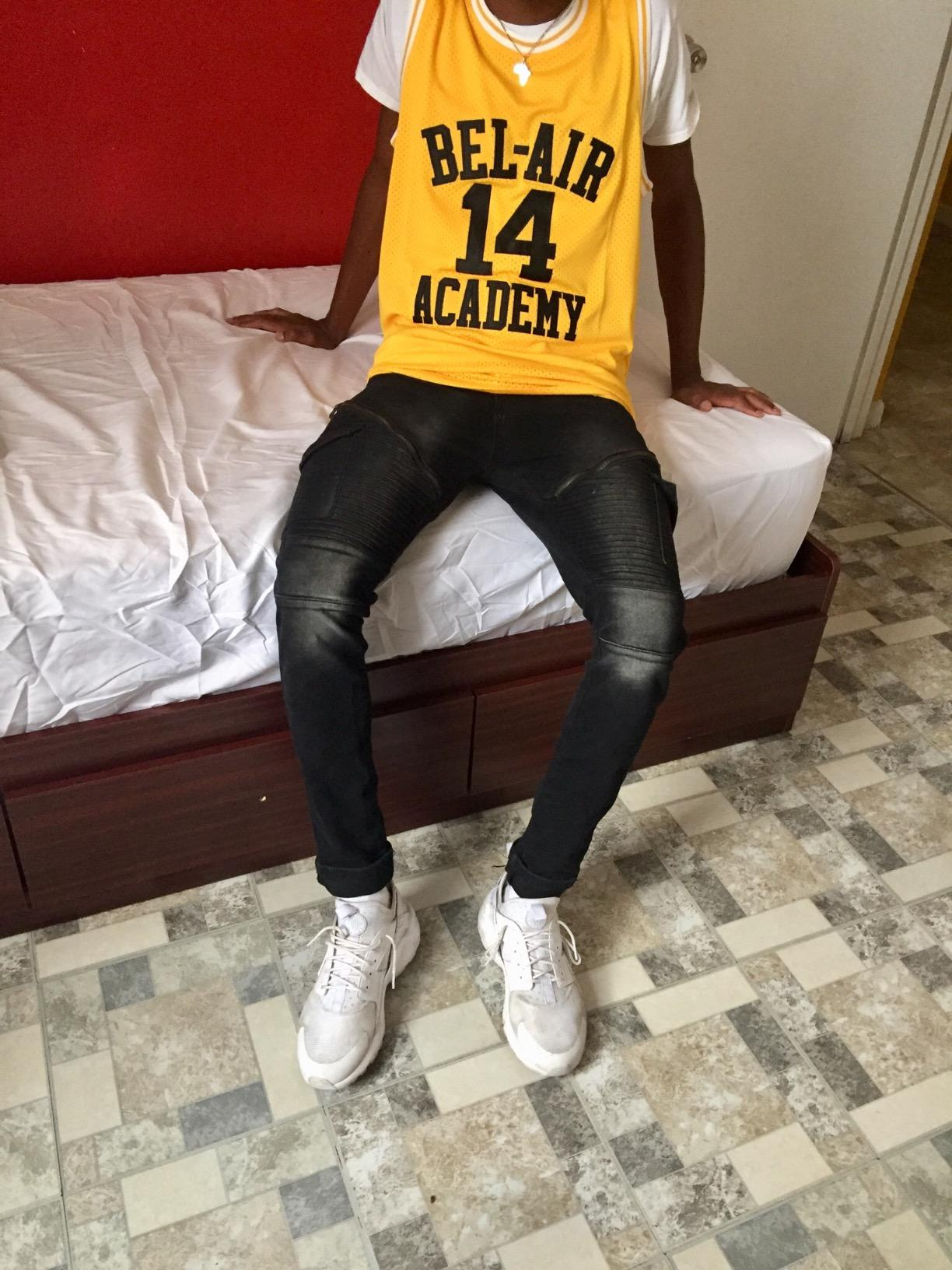 Will Smith  14 - Fresh Prince Of Bel-Air Basketball Jerseys ... f45a7477c6